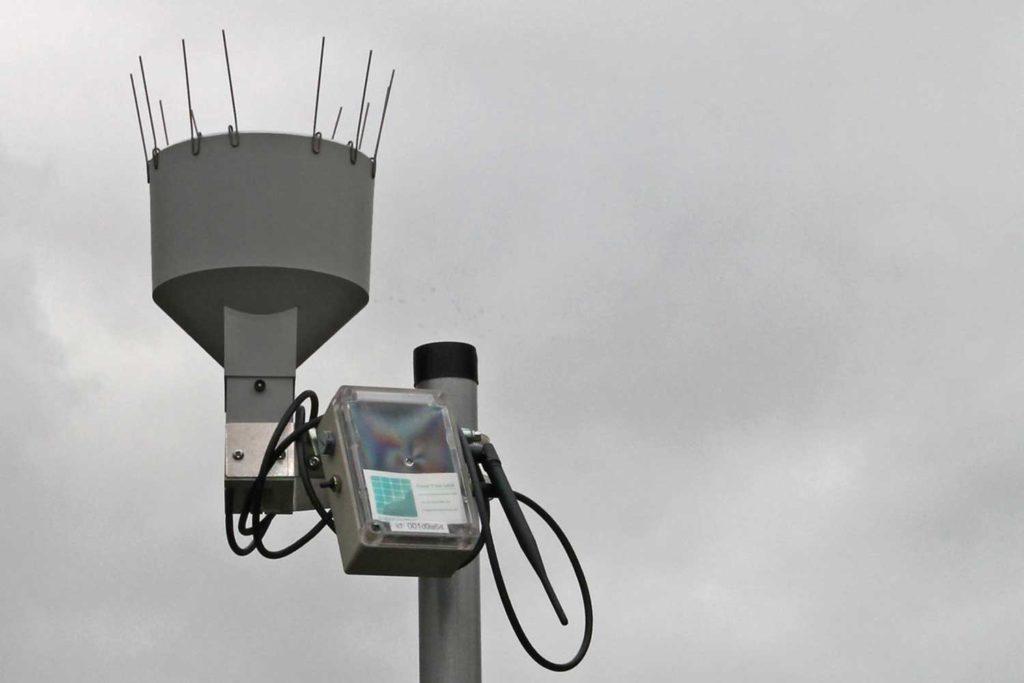 IoT rain gauge