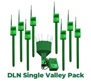 River catchment soil moisture solution - single valley pack